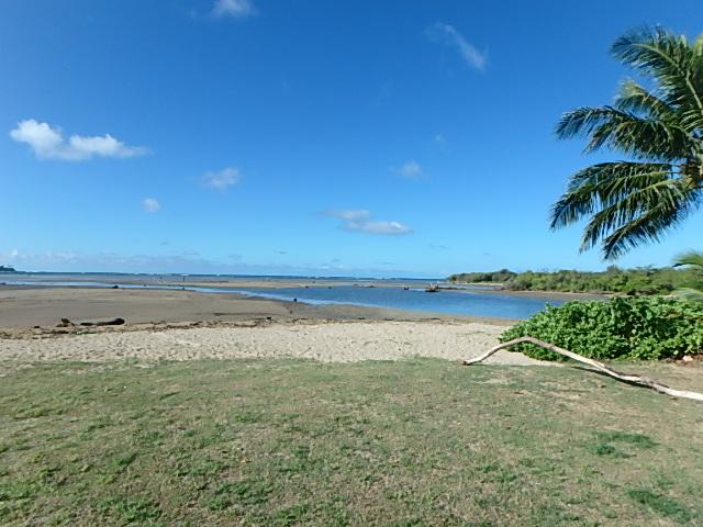 潮が引いたクリオウオウビーチ