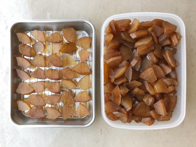 酵素リンゴの実とドライ酵素リンゴ